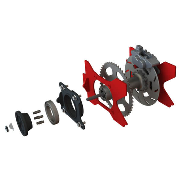 Center Hub parts in order