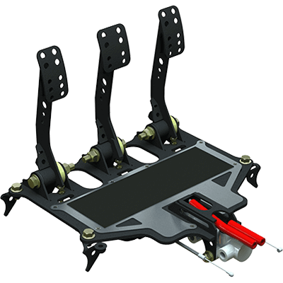 Pedal box assembly